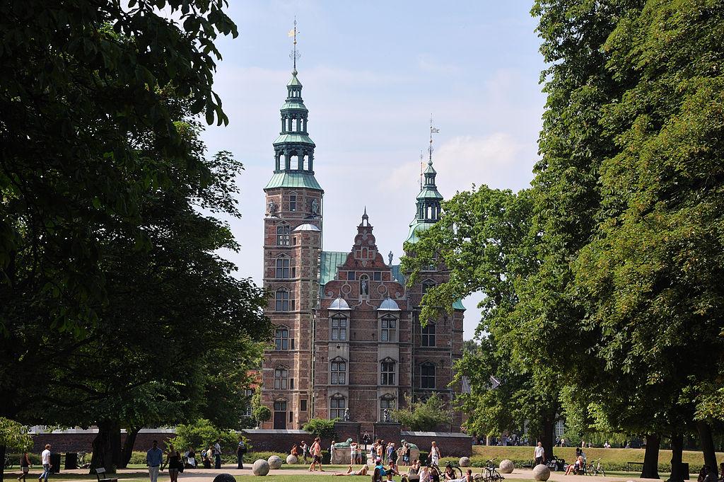 Il Castello Rosenborg a Copenaghen