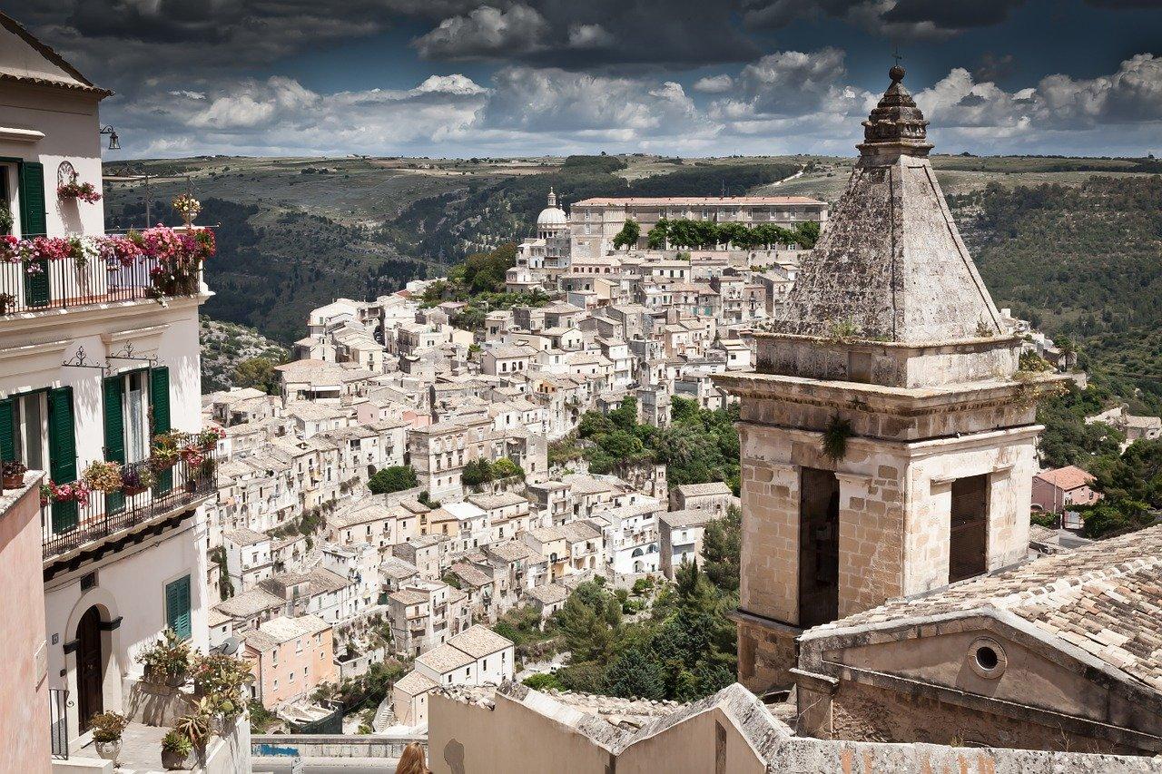 Ragusa Ibla Sicilia Montalbano