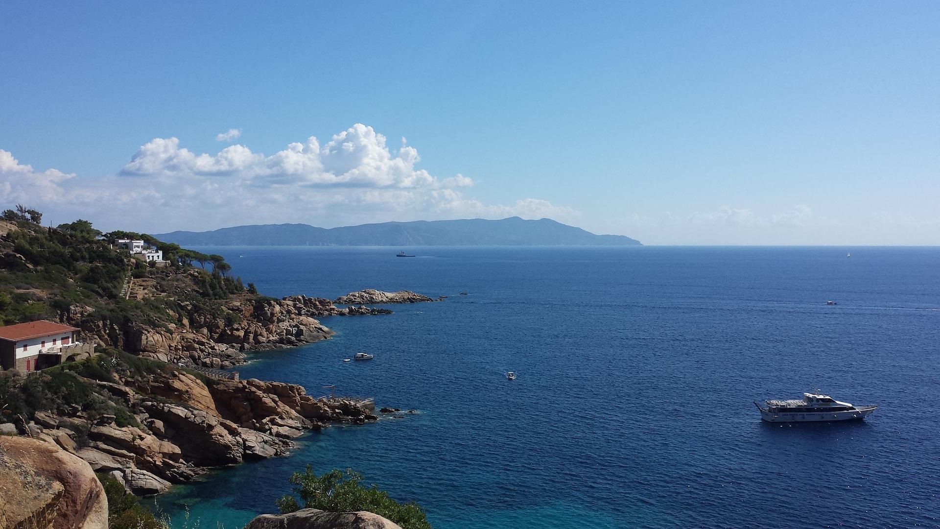 La bellissima Isola del Giglio in Toscana