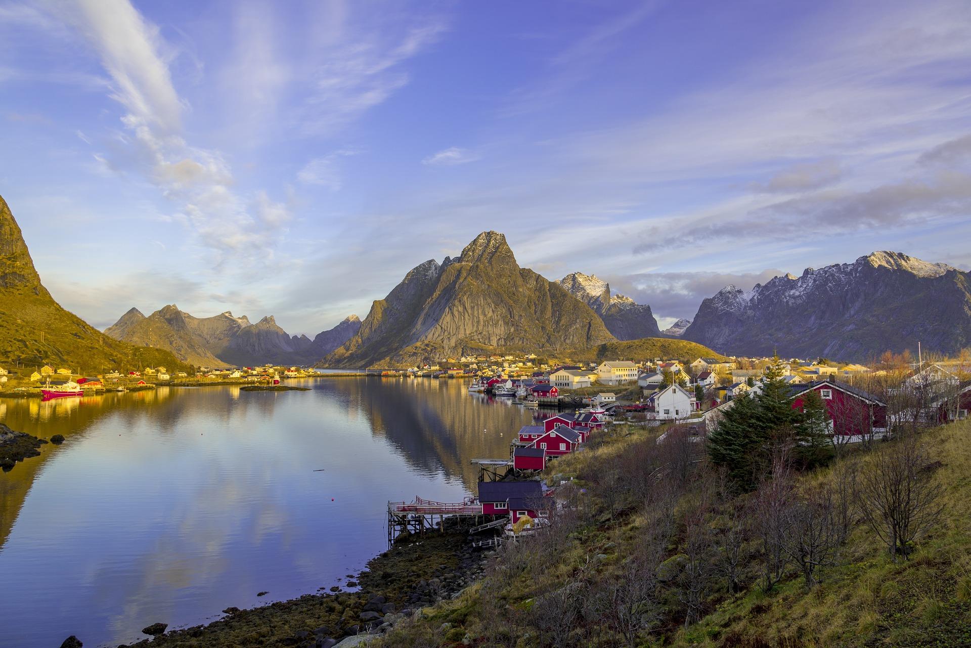 Isole Lofoten in Norvegia