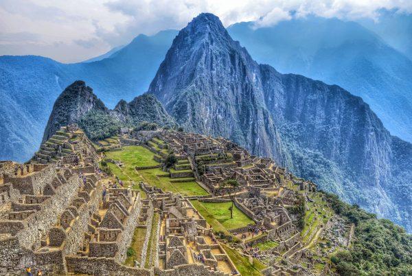 Machu Picchu in Perù