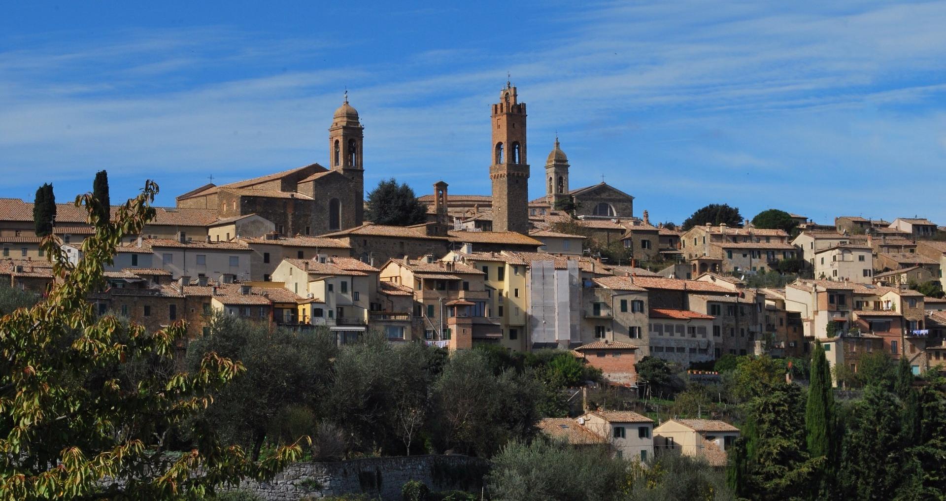 Montalcino in Toscana